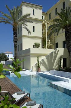 The Poseidonion Grand Hotel in Spetses, Greece http://www.mediteranique.com/hotels-greece/spetses/poseidonion-grand-hotel/