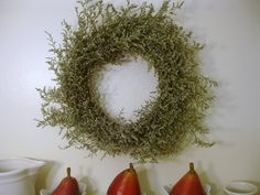 Don't Disturb This Groove: Natural Fall Wreath