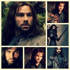 So I keep hearing that my heart will be ripped out when I watch The Desolation of Smaug.at least Legolas is hot and continues on in the rest of the series. Aidan Turner Kili, Aiden Turner, The Hobbit Movies, O Hobbit, Kili And Tauriel, Legolas, Desolation Of Smaug, Jrr Tolkien, Poldark