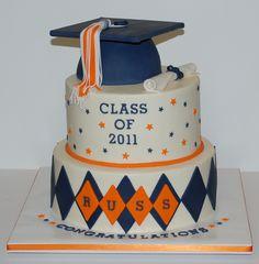 Graduation Cake by cjmjcrlm (Rebecca), via Flickr