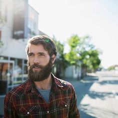 David Postman - full thick beard mustache beards bearded man men mens' style bearding #beardsforever