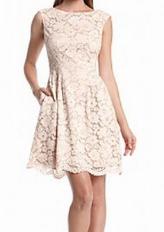 Vince Camuto NEW Blush Pink Womens Size 8 Floral Lace Sheath Dress $148 110 | Clothing, Shoes & Accessories, Women's Clothing, Dresses | eBay!