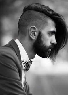 I have a similar haircut, but the problem is whenever it is windy outside, the hair goes wild. Nice hair cut though, maybe this will help me. - from: Striking undercut #gents