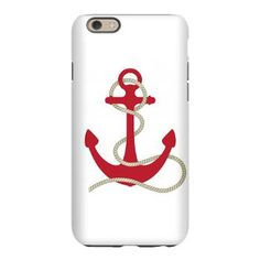 Red Anchor IPhone 6 Slim Case