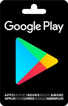 Buy a gift card at a store near you and give the latest entertainment for Android devices and more. Play Store Gratis, Play Store App, App Play, Get Gift Cards, Itunes Gift Cards, Paypal Gift Card, Gift Card Giveaway, Carte Cadeau Itunes, Playstation
