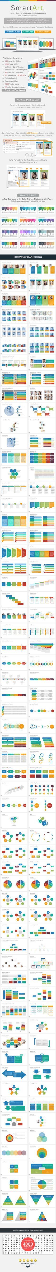SmartArt Library PowerPoint Presentation Template #design #slides Download: http://graphicriver.net/item/smartart-library-powerpoint-presentation-template/13795473?ref=ksioks