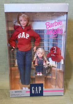 Barbie & Kelly Gap Gift Set Mattel 18547 Special Edition 1997 for sale Barbie Go, Barbie Doll Set, Barbie Sets, Barbie Kelly, Barbie Stuff, Vintage Barbie Dolls, Barbie And Ken, Barbie Clothes, Barbie Celebrity