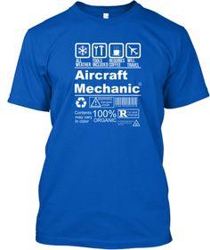 Limited Edition Aircraft Mechanic Shirt