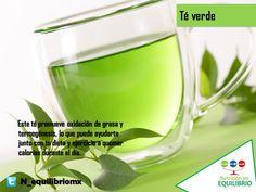 Cambia tu taza de café por una de #téverde. #nutricion #dieta