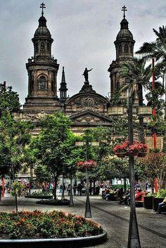 Santiago catedral, Chile