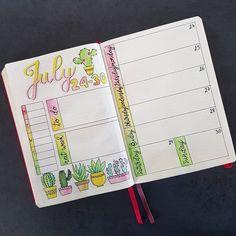 Ready for next week with my first ever succulent and cactus doodles! I used the same layout as last week as it worked quite well for me -  Prête pour la semaine prochaine avec mes premiers doodles de cactus ! J'ai utilisé la même disposition que la semaine dernière car ça fonctionnait plutôt bien pour moi #bulletjournal #BUJOinspire #bulletjournallove #bujo #bujobeauty #bujoaddict #bujojunkie #bujocommunity #plan #planner #plannercommunity #showmeyourplanner #leuchtturm1917 #waterco...