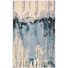 "Brister Light Blue Area Rug Wayfair 10'6"" x 16'5"""