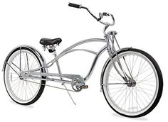 Firmstrong Urban Man Deluxe Single Speed Stretch Beach Cruiser Bicycle, 13x26-Inch, Chrome - http://www.bicyclestoredirect.com/firmstrong-urban-man-deluxe-single-speed-stretch-beach-cruiser-bicycle-13x26-inch-chrome/