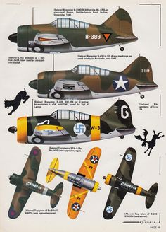 Airplanes porn(mostly) — passion-aviation: Brewster Buffalo - Air. Ww2 Aircraft, Military Aircraft, Brewster Buffalo, Finnish Air Force, Hawker Typhoon, Camouflage, Aircraft Painting, Ww2 Planes, Military Equipment
