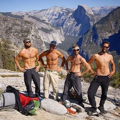 Photo by @jamesqmartin  A blast from the past the guys on top of El Capitan during the filming of 180 South. From left to right @thetorpedopeople (Keith Malloy) @jeffjohnson_beyondandback @timmyoneill & Dave Turner  #tbt by natgeoadventure