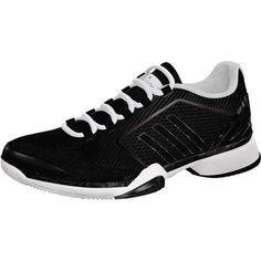 purchase cheap d59cc dc9c9 adidas Women`s aSMC Barricade 2016 Tennis Shoes Black and White (€110)