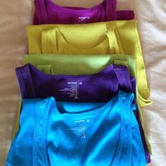 Old Navy tank tops 5 for price of one. Used but in good condition. All size XS Tops Tank Tops