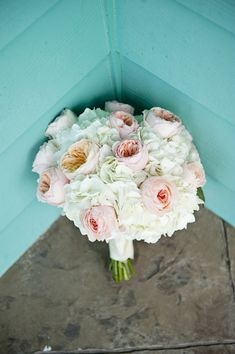 Gorgeous wedding bouquet! Photo by Jen Harvey Photgraphy  - to see more: http://www.theperfectpalette.com/2014/03/real-wedding-matt-and-sally.html