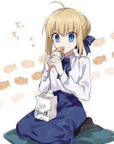 Comic Manga, Chica Anime Manga, Anime Art, Type Moon Anime, Shirou Emiya, Arturia Pendragon, Fate Characters, Fate Stay Night Anime, Fate Anime Series