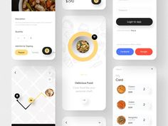 Food App Ui Kit: Fode Food is a restaurant application UI Kit with a clean design style and components and layer logic have been designed that are ready to use and help you for a faster design process. Features: 23+ Premium Quality iOS Screens | 48+ Component | 414x896 Resolution Screen | Simple and Modern Design | Style Guide, Typography & Colors | Compatible with Figma App Design Inspiration, App Ui Design, Mobile App Design, Best App Design, Ui Kit, Application Ui Design, Conception D'applications, To Do App, Restaurant App