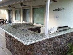 Stunning Outdoor Kitchen Las Vegas With Granite Outdoor Kitchen Countertops And C Outdoor Kitchen Countertops Cheap Kitchen Remodel Inexpensive Kitchen Remodel