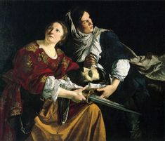 gentileschi and caravaggio