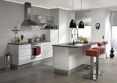 Diseños de Cocinas Integrales Modernas 2013. Para conseguir un acabado muy reestructurado en tu cocina, debes tener todo bien organizado para que así tu o cualquier integrante de tu familia use tu coc