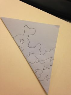 how to make cool snowflakes out of paper - Google Search