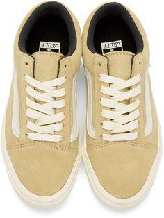 cacdd49cbd07 Vans - Beige Old Skool Lite LX Sneakers