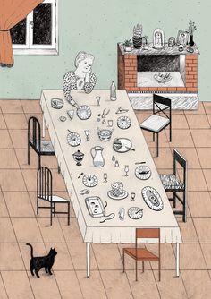 Alessandra De Cristofaro's Work is The Perfect Amount of Quirky | ILLUSTRATION AGE