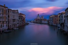 Canal Grande and Santa Maria della Salute | Venice by Giulio Rosso Chioso on 500px