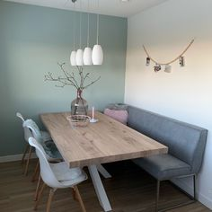 Dining room - Check out # .- Esszimmer – Schauen Sie sich an Dining room – Check out # room - Dining Room Design, Living Room Interior, Interior Design Living Room, Living Rooms, Modern Farmhouse Kitchens, Farmhouse Ideas, Kitchen Decor, Kitchen Ideas, Eat In Kitchen