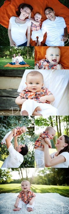 Six Month Baby, Family, Molly Dockery Photography, Asheville NC