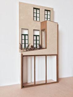 Landscape Architecture Model, Architecture Model Making, Architecture Concept Diagram, Architecture Life, Architecture Student, Brick Facade, Facade House, Interior Design Presentation, Architectural Sculpture