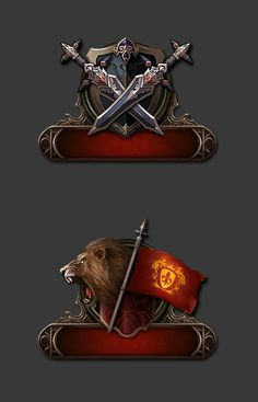 Game UI Icons, JongH...