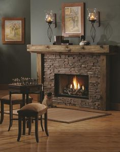 Kingsman Gas Fireplace Inserts  Photo from- Julia Clements