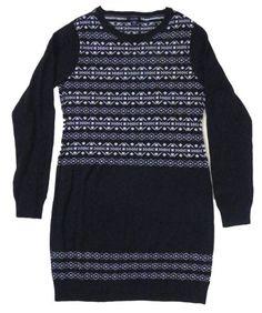 Nautica Women's Fair Isle Sweater Dress (Double « Clothing Impulse