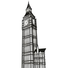 Vinilo torre Big Ben