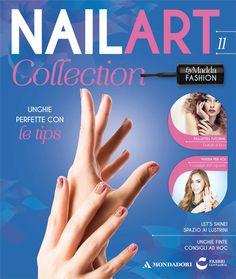Uscita 11 #NailArt #Collection: Tip unghie finte trasparenti + 2 barattoli pailletes argento e rosa fucsia! #edicola #unghie