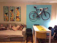 pinarello on the wall #pinarello #painting #home #cycloc