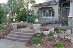 Walkways, entryways, stairs, retaining wall, Davis Concrete - Murrieta CA