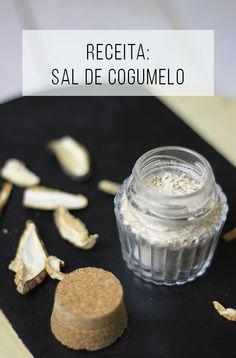 Receita de sal de cogumelo