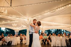 Nothing quite like a first dance under twinkling lights and chandeliers in our Marquee Tent #redwoodsweddings #wedding #weddingwednesday #outdoorwedding #allinclusivewedding #outdoorweddingvenue #langleyweddingvenue #langleywedding #vancouverwedding #vancouverweddingvenue #fraservalleywedding #decor #bohemian #weddingtent #marqueetent #bohowedding {08.14.16}  Photo by @luketakesphotos Luke Liable Photography