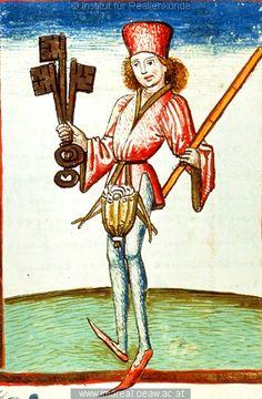 Amtmann    der Stadt   Dieses Bild: 006739     1479 ; 1479 ; Wien ; Österreich ; Wien ; Österreichische Nationalbibliothek ; cod. 3049 ; fol. 95v