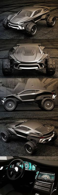 Meet the Sidewinder, an insane dune buggy designed for whatever you can throw at it.