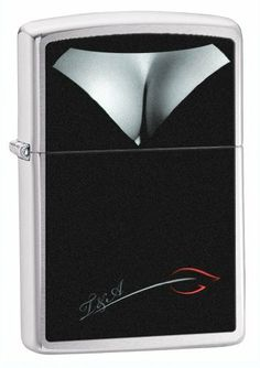 Zippo Brush Chrome BS Deolletage Lighter (Silver, 5 1/2x 3 1/2-Cm) by Zippo. $15.49. New 2012. -