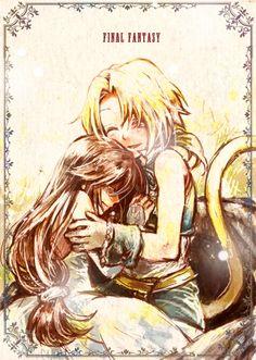 Zidane and Garnet - Final Fantasy IX