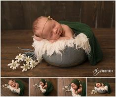 Babies are unpredictable - how to schedule their first photoshoot - Colorado Newborn Photographer Aly Inspired Photography. Floral Newborn Wrap, Floral headband. Newborn photo. Newborn pose.