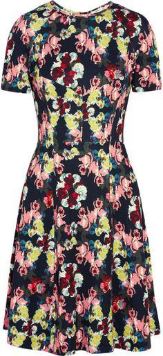 Love this: Armel Floralprint Stretchjersey Dress @Lyst
