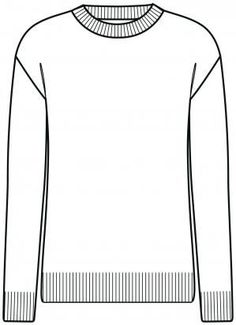 Le pull - forme droite Knitting Basics, Loom Knitting, Street Look, Diy Tricot Pull, Raglan Pullover, Flat Drawings, Ravelry, Technical Drawing, Vintage Signs